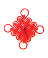 Eternity knot - wooden wall clock with traditio... - $79.00