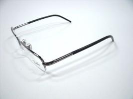 Ray Ban Rectangle Women's RB6245 2502 Silver/Semi Rimless Eyeglasses 51mm - $80.51