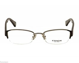 COACH EULALIA HC5053 9181 SATIN GUNMETAL EYEGLASSES AUTHENTIC 52MM - $82.45