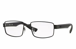 Ray Ban Eyeglasses RB6319 2503 Black Square  53mm Frame Metal - $67.90