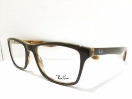 Ray Ban Rectangular Unisex RB5279 5177 Grey Green Eyeglasses 55mm Authentic - $80.51