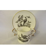 "Royal Worcester English Bone China Demitasse Cup & Saucer, ""Pheasant"" - ... - $20.00"