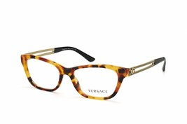 Versace Women's  VE MOD 3220-A 5119 Havana Clear Lens 54mm - $106.70