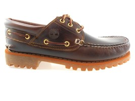 TIMBERLAND 6500A TFO CLASSIC MEN'S LUG LEATHER BOAT SHOES W(WIDE) - $89.99