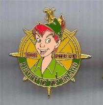 Disney Peter Pan  II 100 Years of Dreams #78  compass pin/pins - $24.99