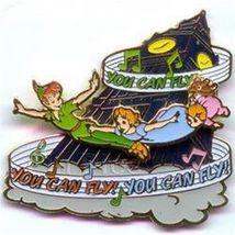Disney Peter Pan Slider You Can Fly! Pin/Pins - $28.04