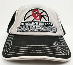 Oklahoma Sooners 2007 Champions Womens Basketball Hat Cap OU Big 12  EUC - $11.30