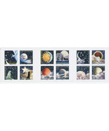 2016 France Stamps Planets Stars Moon Space Booklet Mint Adhesive - $18.29 CAD