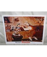 Disney Pinocchio Gepetto Figaro Cat Workshop Lobby Card - $19.98
