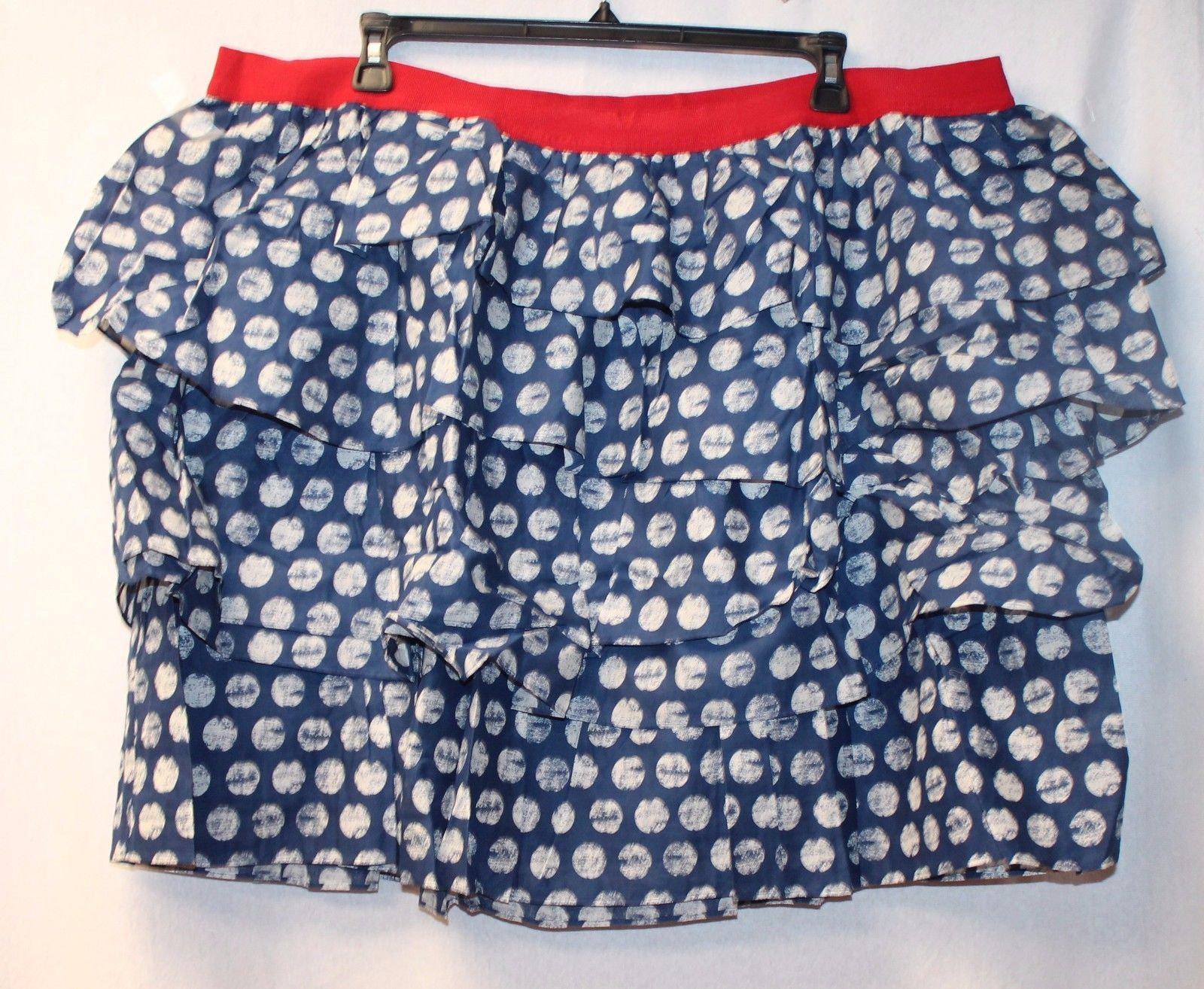LANE BRYANT ~ NWT 18 26 28 ~ Navy /& White Polka Dot PENCIL Straight Skirt