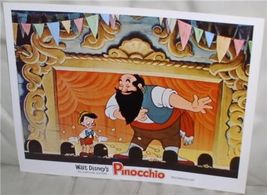 Disney Pinocchio with Stromboli Puppet show Lobby Card - $24.99