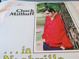 Chuck Millhuff In Nashville Record Album - $6.75