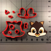 Squirrel Face 100 Cookie Cutter Set - $6.00+