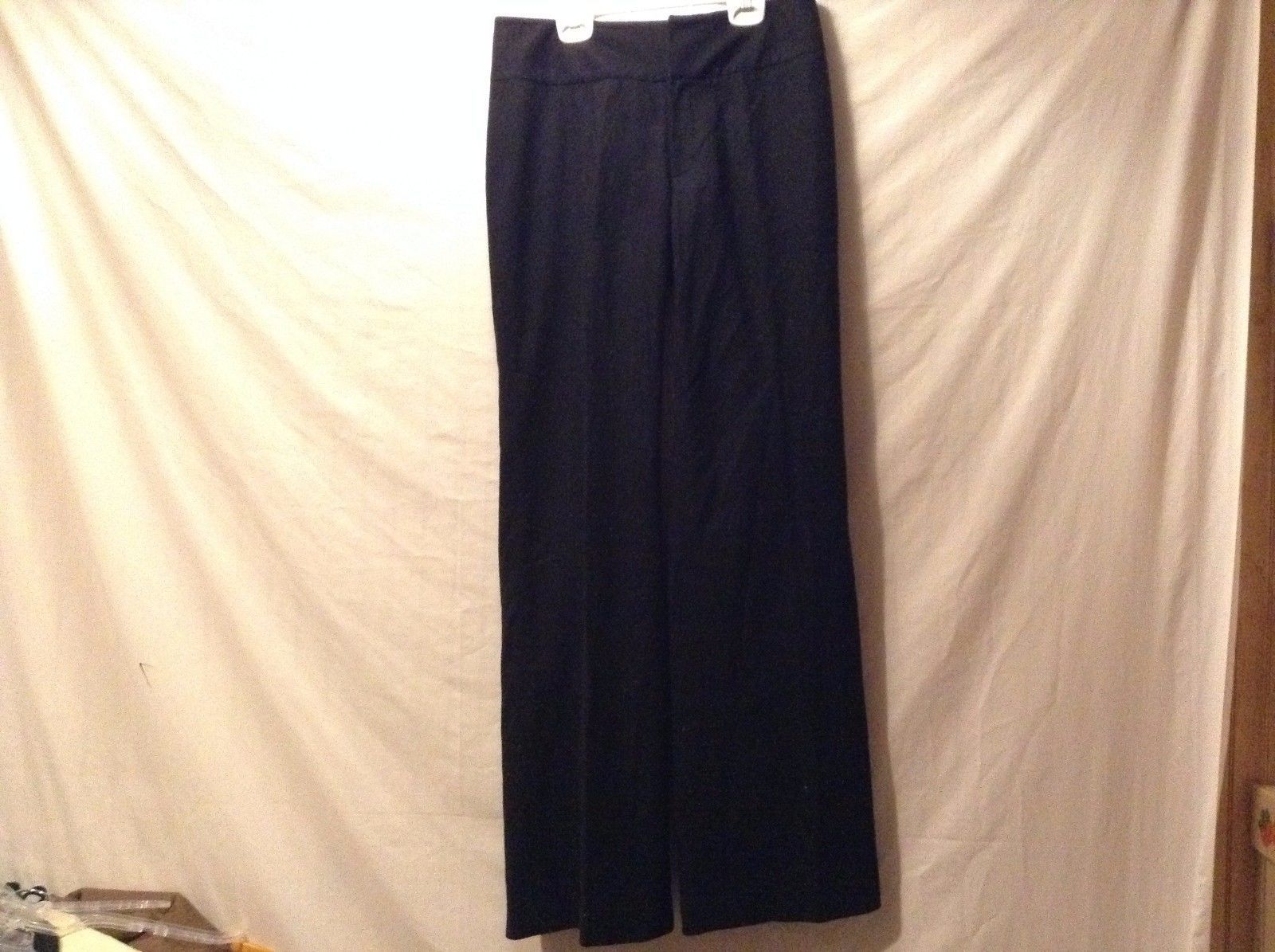 Great Condition Banana republic Harrison Fit Size 6 Pants Polyester Blend Black