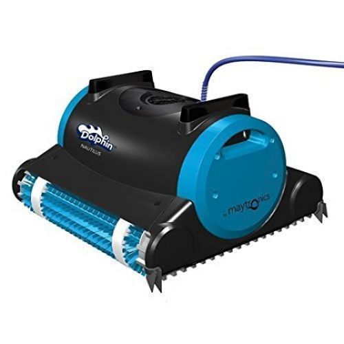 Dolphin 99996323 Dolphin Nautilus Robotic Pool Cleaner with Swivel Cable 60-Feet
