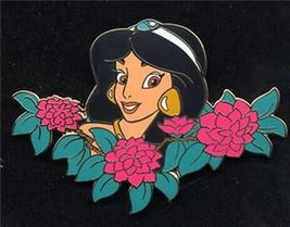 Disney Princess Jasmine Among Flowers Auctions (P.I.N.S.) -  LE Pin/Pins - $29.69