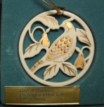 Lenox Christmas Ornament 1987 Partridge Twelve ... - $14.99