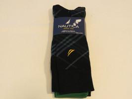 Nautica crew classics 4 pack pair socks Men's grey N41052 shoe size 6-12... - $34.64