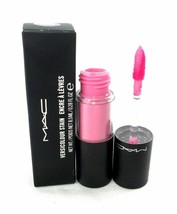 MAC Versicolour Stain Constant Craving Lip Gloss Liquid Full Size NIB pink sheer - $17.36