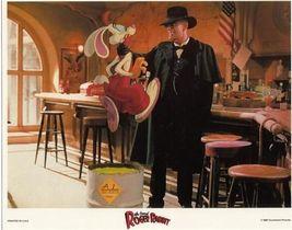 Disney Roger Rabbit and Judge Doone original Press Release Photo - $19.79