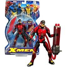 Marvel Year 2005 X-Men Series 6 Inch Tall Figure - Ruby-Quartz Armor Cyclops wit - $64.99