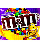 M&Ms Dark Peanut 6 LBs chocolate bulk vending machine Candy New m and m - $49.99