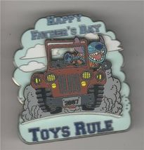 Disney Stitch Toys Rule 4x4 Jeep truck Father's Day WDW Pin/Pins - $23.99