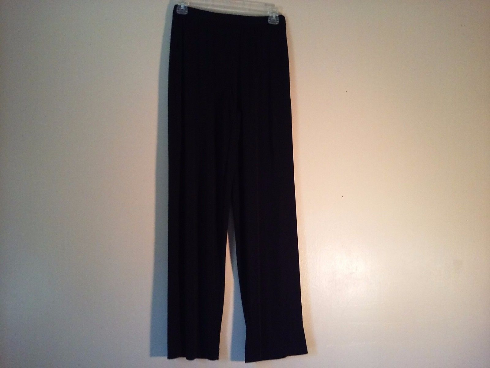 Great Used Condition Elementz Polyester Blend Small Elastic Waist Pants Black