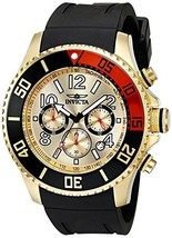 Invicta Men's 15146 Pro Diver 18k Gold Ion-Plated Stainless Steel Watch - $171.26