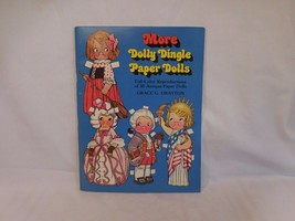 More Dolly Dingle Paper Dolls Full Color Reproductions 1979 UNCUT - $13.62