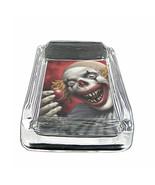 """Evil Clowns D7 Square Ashtray 4"""" x 3"""" Smoking Cigarette - $12.82"""