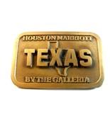 Vintage Houston Texas Marriott par The Galleria Boucle Ceinture USA - $116.80