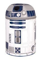 Star Wars Themed Lunch Kit Wi Sounds And Lights Insulated Kids Fun R2D2 - $24.25