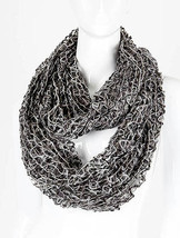 KNITTED  INFINITY SCARF - £17.03 GBP