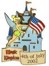Disney Tinker Bell Magic Kingdom - July 4th Limted Ed pin/pins - $24.99