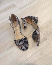 Naturalizer Ankle Sandals Black Leaf 7.5 - $64.00