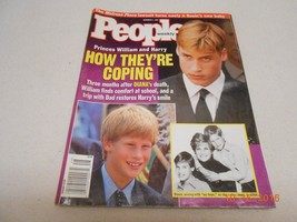 People Magazine DECEMBER 1, 1997 PRINCE WILLIAM & HARRY HOW THEY'RE COPI... - $6.44