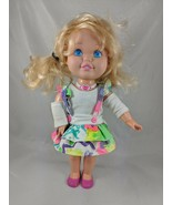 """Lewis Galoob Suzy Snapshot Baby Doll 14"""" 1991 Not Working - $5.36"""