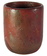 Vintage Studio Pottery Vessel with Metallic Iri... - $75.00