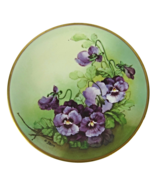 Antique Jean Pouyat French Limoges Plate with P... - $65.00