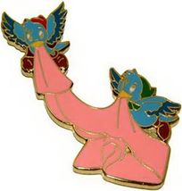 Disney  WDCC  Cinderella  Birds with Sash Never Sold pin/Pins - $29.02