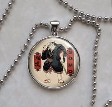 Sumo Somagahana Fuchiemon 相撲 wrestling rikishi Pendant Necklace - $14.00+