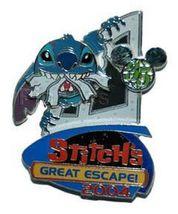 Disney WDW - 35 Magical Milestones -  Stitch's Great Escape! pin/pins - $35.99