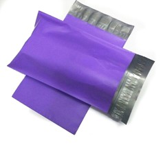 1000 12x15.5 Purple Poly Mailer Shipping Envelope Polybag Polymailer 2.5MIL - $88.88