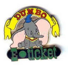 Disney WDW - Dumbo E-Ticket  pin/pins - $39.59
