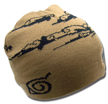 Naruto Shippuden: Brown Cloud and Forest Knit Beanie GE2324 *NEW* - $19.99