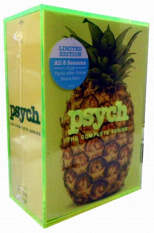 New Psych The Complete Series Seasons 1-8 1.2.3 4.5.6.7.8(DVD,31-Disc Box Set)