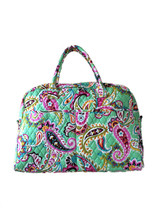 Vera Bradley Weekender Carryon Travel Bag in Tutti Frutti with Pink Inte... - $1.737,40 MXN+