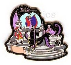 Disney  WDW - Snowglobe Parade - Villain Pin/Pins - $29.99