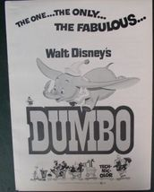 Disney magic Dumbo History Advertising  Promotional item - $19.99